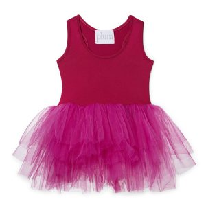 I love plum Fuchsia Olivia Dress