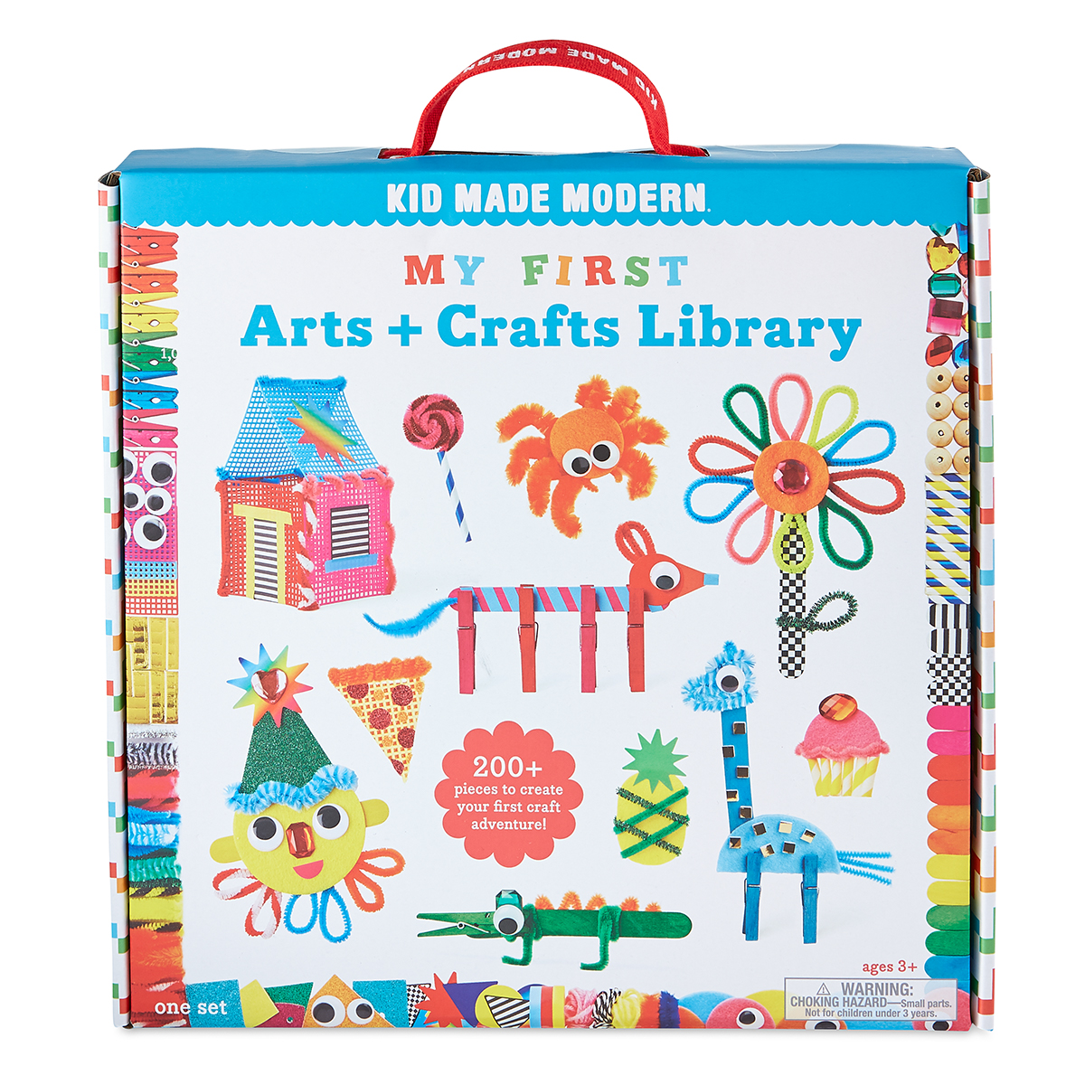 Kid Made Modern My First Arts + Crafts Library