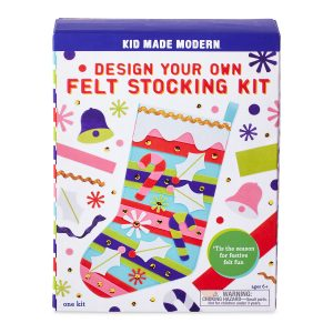 Kid Made Modern Design Your Own Felt Stocking