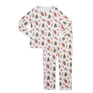Hart + Land Classic Holiday Pajama Set for men