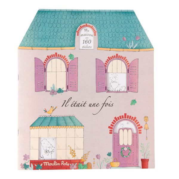 Moulin Roty II Etait Une Fois Sticker Book 20 Pages AW19