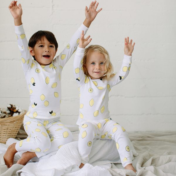 1212 Lemon PJ Set AW19