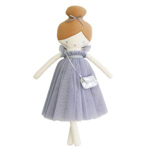 Alimrose Charlotte Doll Lavender Dress AW19
