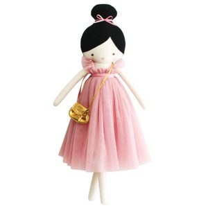 Alimrose Charlotte Doll - Pink Dress