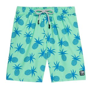 Tom & Teddy x The Tot Pineapple Jade Green Mens AW19