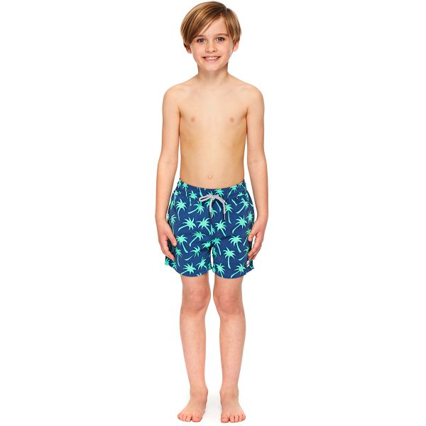 Tom & Teddy x The Tot Palms Navy Spring Green Boy AW19