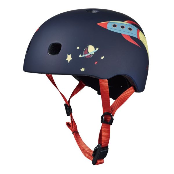 Micro Kick Board Navy Rocket Helmet AW19