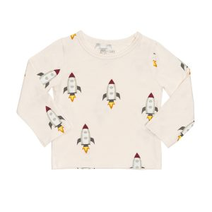 hart + land long sleeve bamboo rocket tee