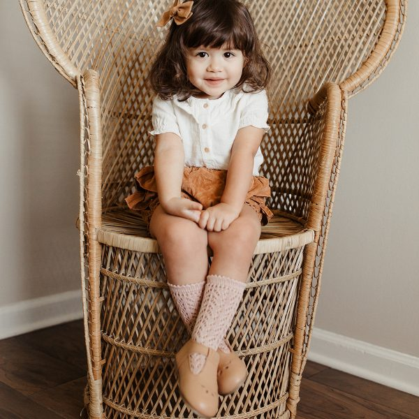 Consciously Baby TBar Shoes Firenze Tan AW19