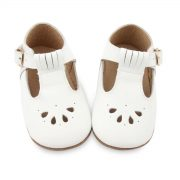 Consciously Baby LeatherBoots Abu Dhabi White AW19