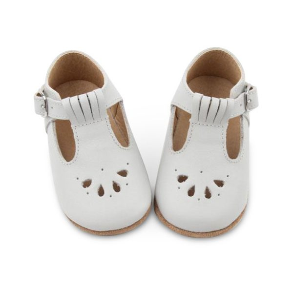 Consciously Baby TBar Shoes Grey AW19