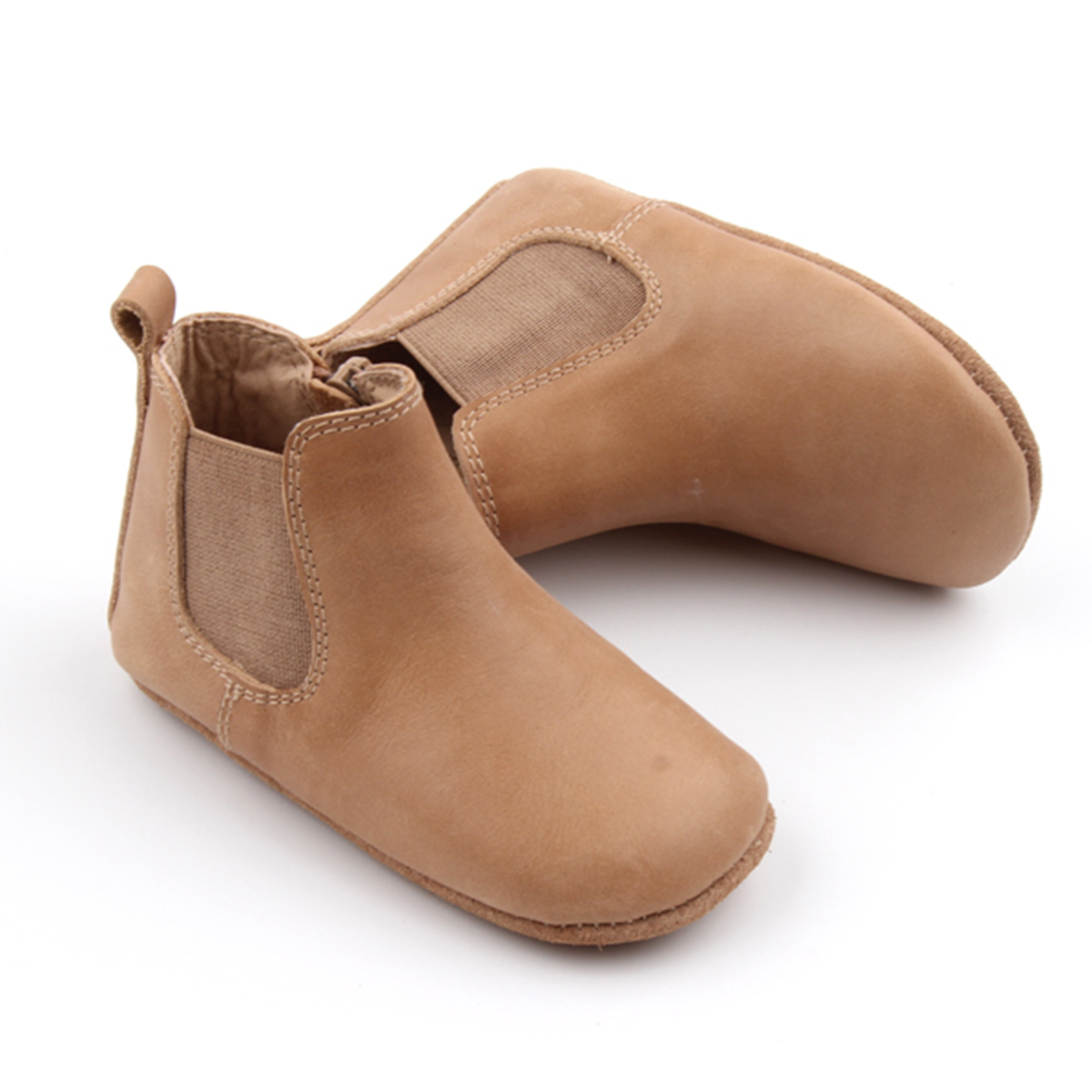Consciously Baby LeatherBoots Sedona Brown AW19