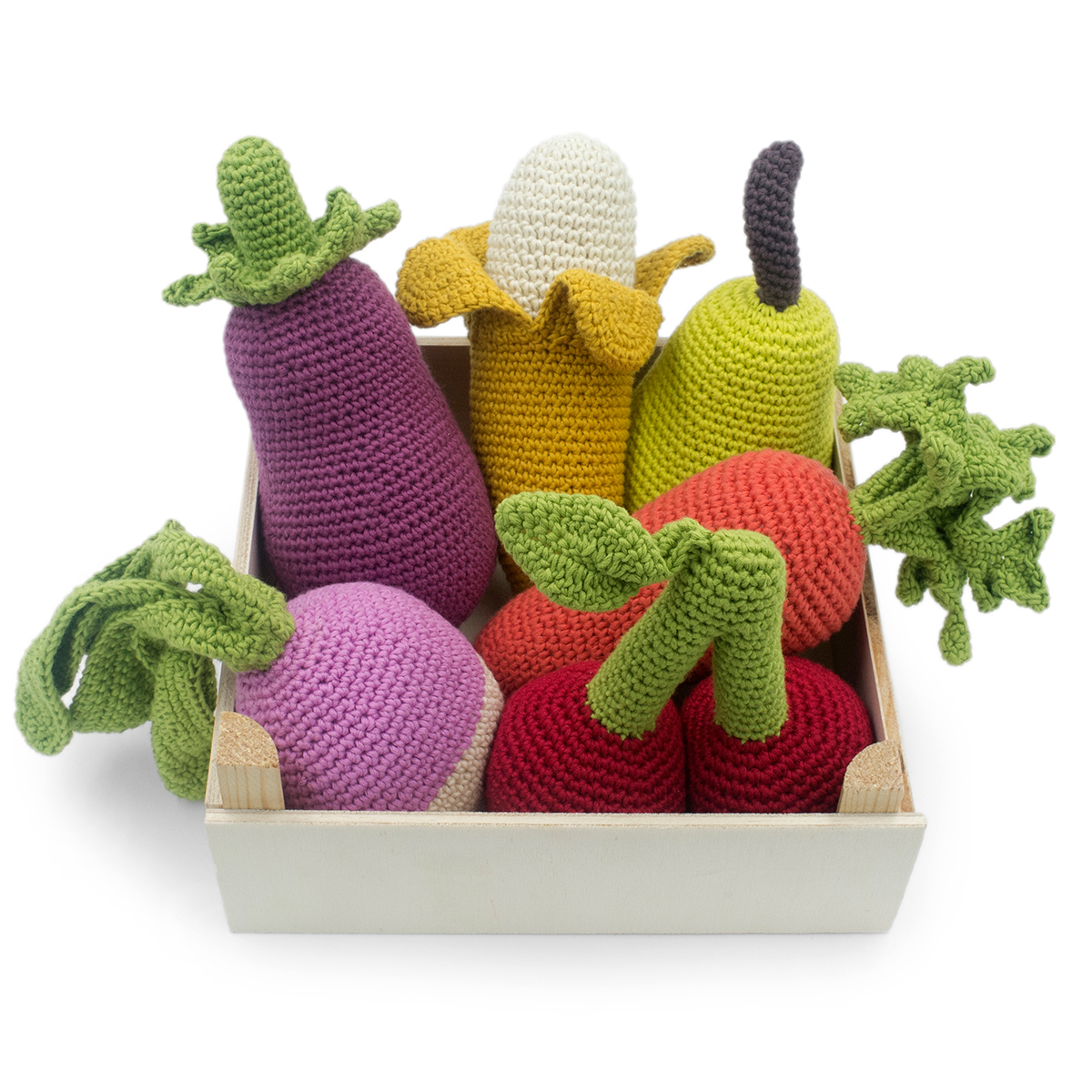 Crochet Pattern/ Amigurumi Food Fruits and Vegetables pattern/ PDF ... | 1200x1200