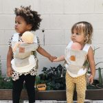 Zarpar Bebe Bohemian Sand Mini Doll Carrier AW19