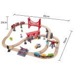 Hape Busy City Rail Set AW19