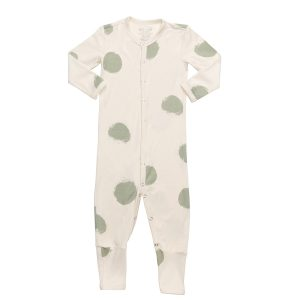 hart + land bamboo footless romper