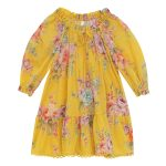Zimmerman Smock Dress Golden Floral FW19