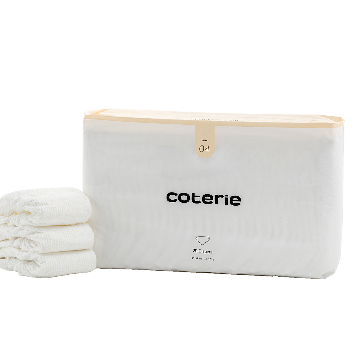 Coterie Diapers 1 Month Supply