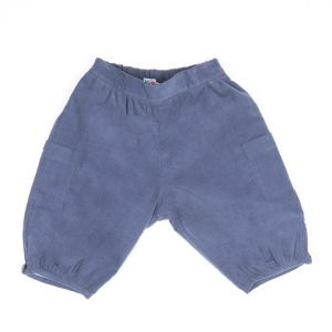 Amaia Blue Shorts front side