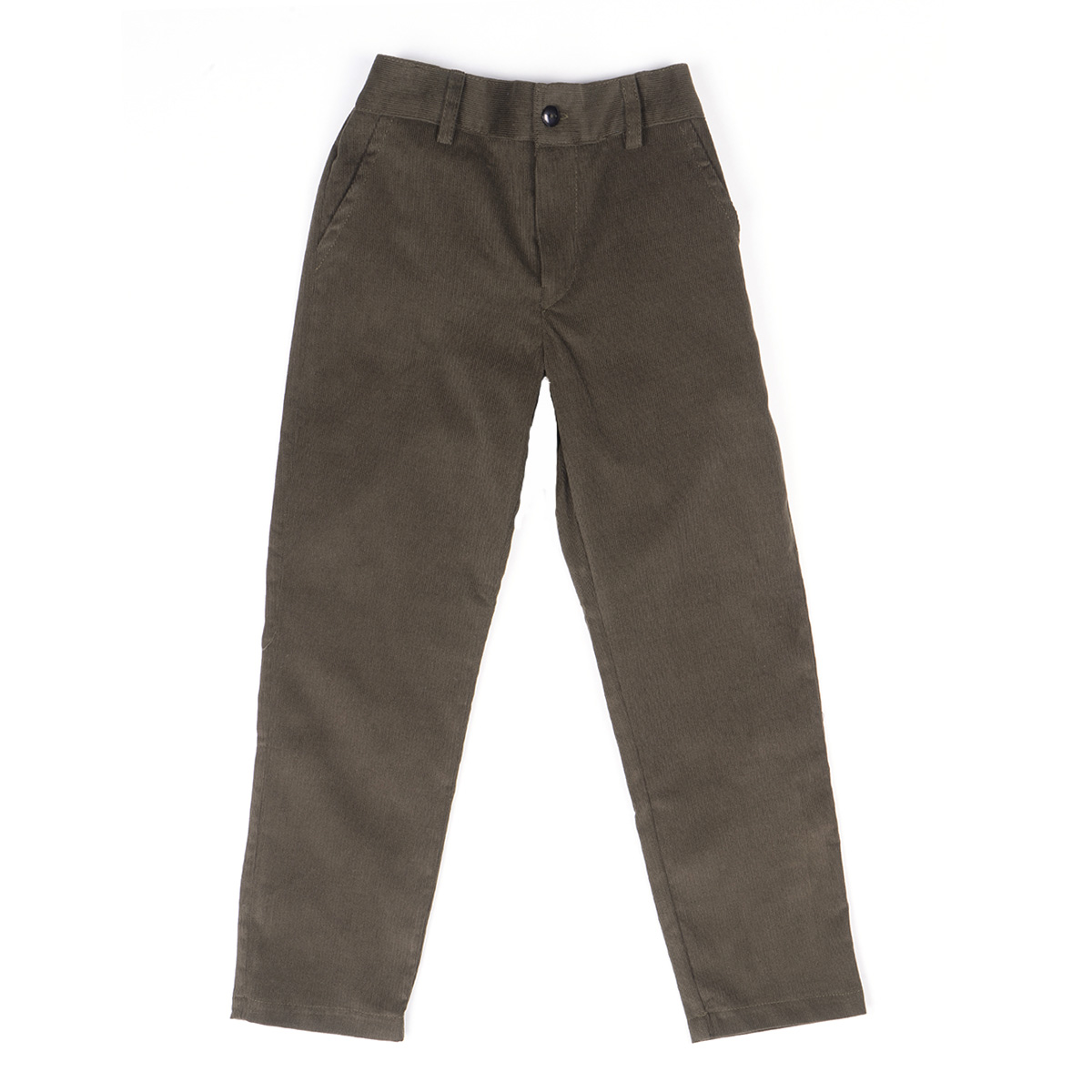 Amaia Theodore Trousers in Green front side