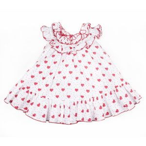 Gul Hurgel Red Heart Kidswear Dress