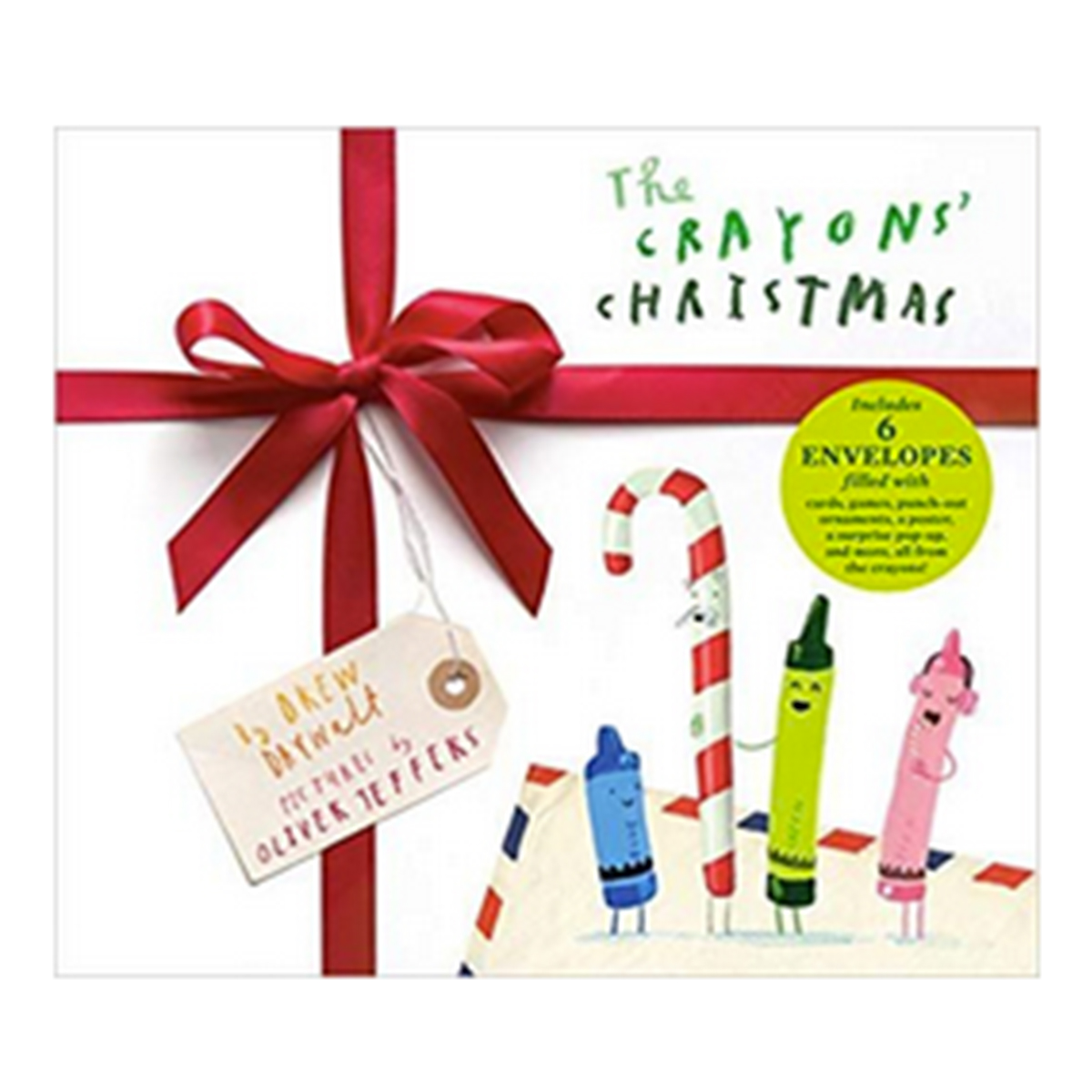 Tiny Bee The Crayon Christmas Book