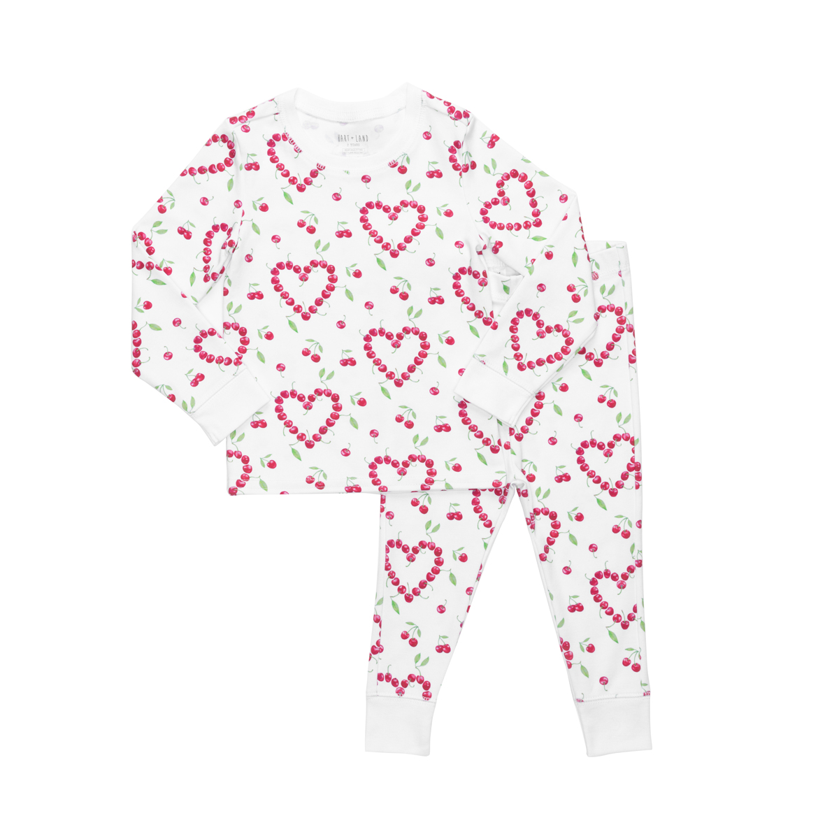 Hart + Land valentine's pima cotton PJs