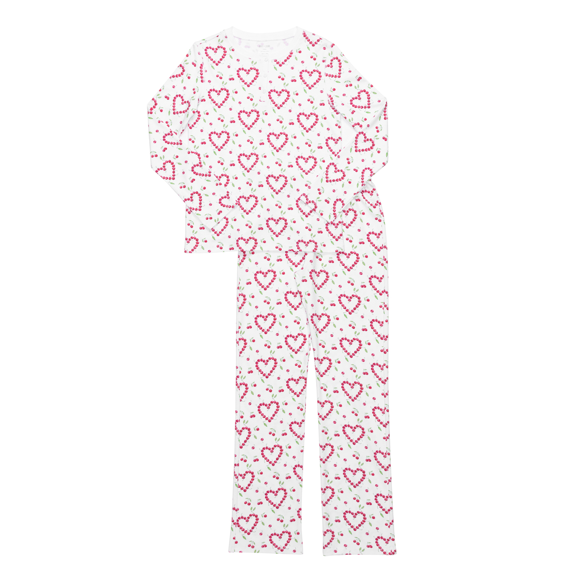 HART + LAND Women's Pima Cotton PJ Set