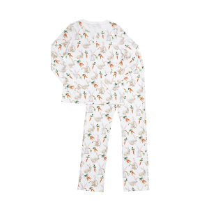 Hart + Land women's pima cotton pjs- bunnies and carrots
