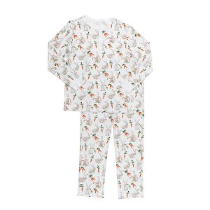 Hart + Land men's pima cotton PJs- bunnies and carrots