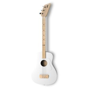 Loog White Acoustic Guitar
