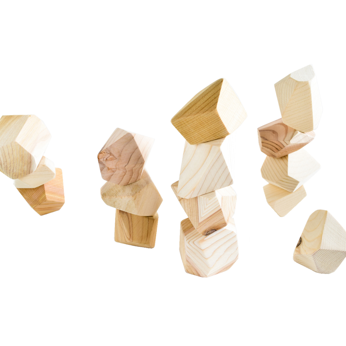 Rock Blocks Natural Set of 16 FW19