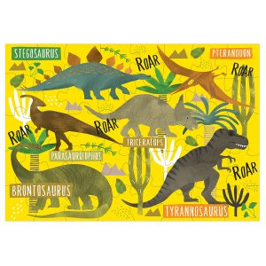 Floss & Rock Dinosaur 40 Piece Jigsaw