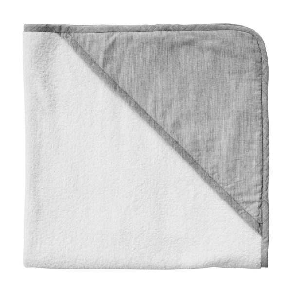 Louelle Hooded Towel Husk Grey FW19
