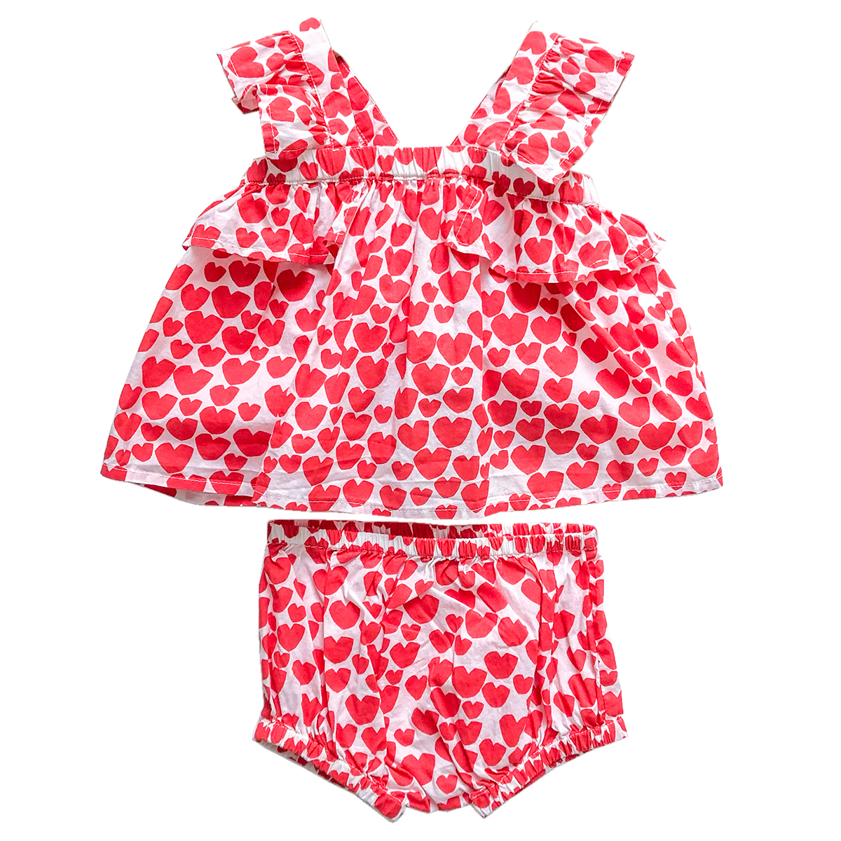 Stella McCartney Hearts Top and Bloomer Set