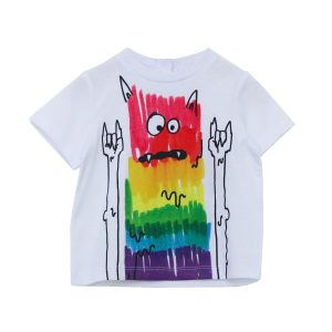 Stella McCartney Rainbow Monster Tee