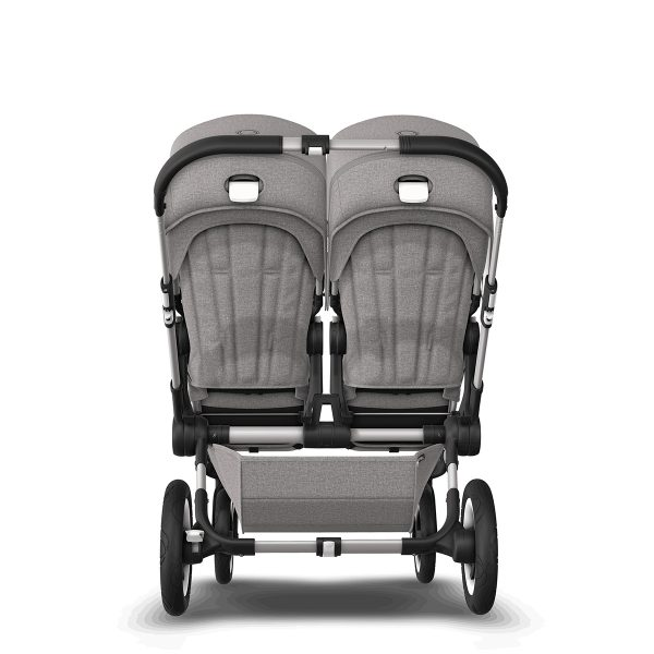 Bugaboo Donkey 2 Duo Light Grey Mineral Collection- Aluminum Frame