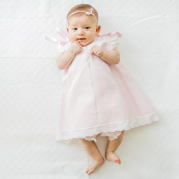 Tot A Porter Baby Milagros Dress with Bloomers