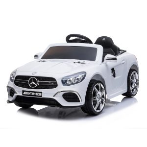 Best Ride on Cars Mercedes Benz SL-63 White