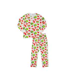 hart + land men's pima cotton pj set - watermelons