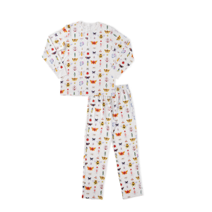 hart + land men's pima cotton pj set - bugs