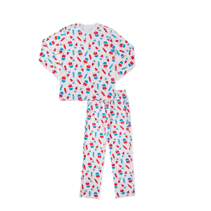 Hart + Land Men's Pima Cotton PJ Set - Americana