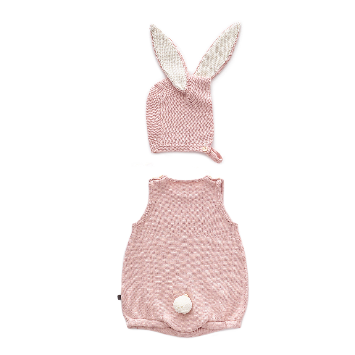 Oeuf Baby/Toddler Bunny Set Light Pink