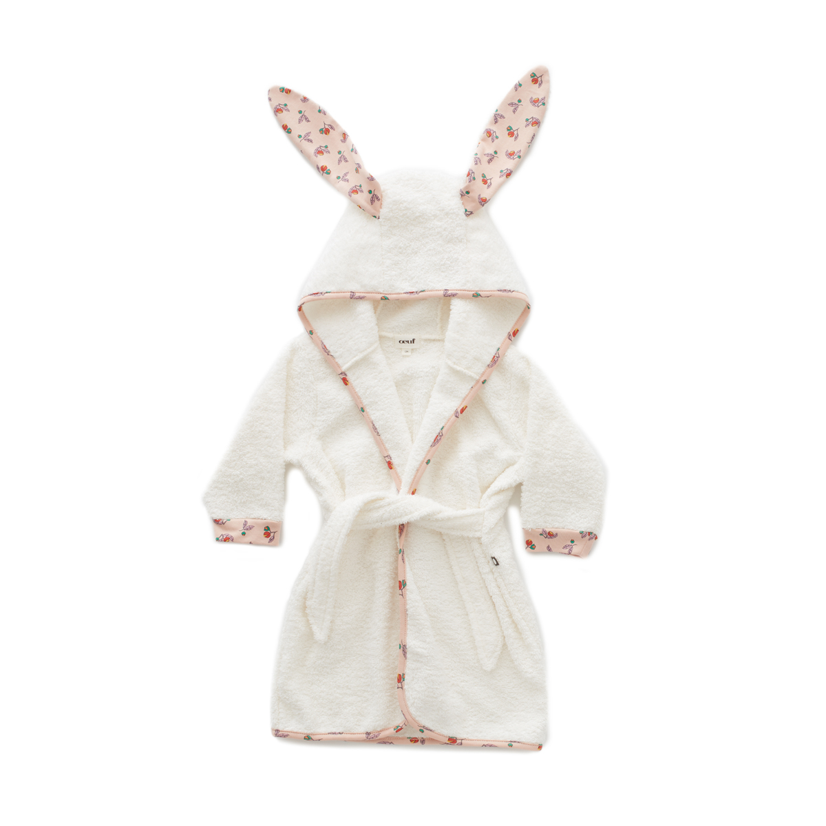 Oeuf Bunny Robe in Small Flower