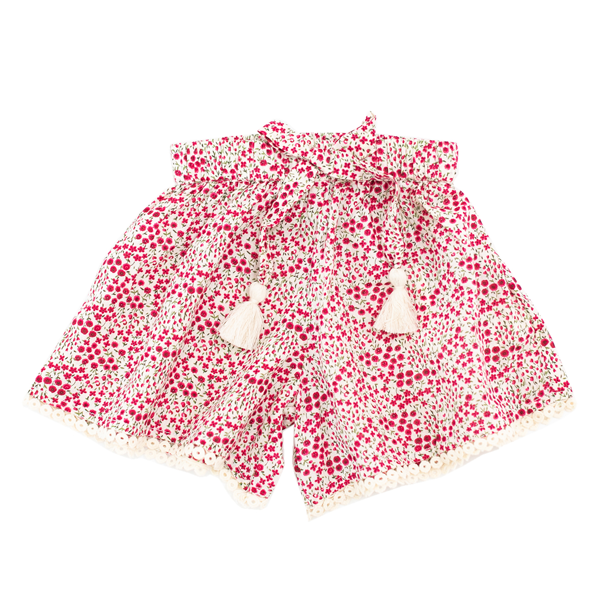 Madras Made Amber Short in Pink Floral