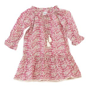 Madras Made Ruby Dress in Floral Pink