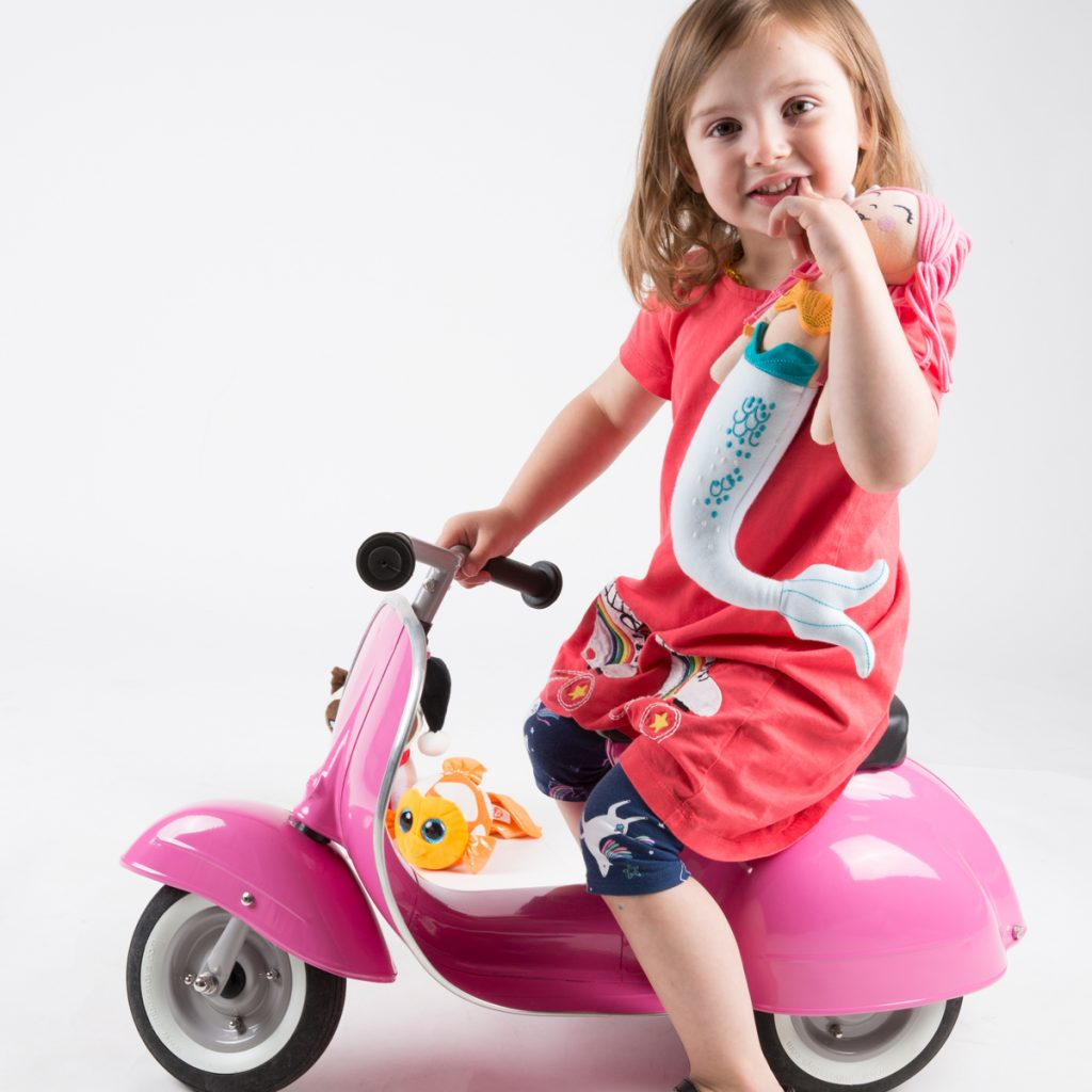Ambosstoys Primo Ride On in Pink