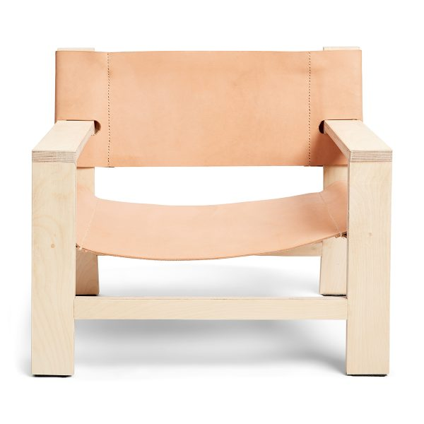 Franklin + Emily Leather Lounger
