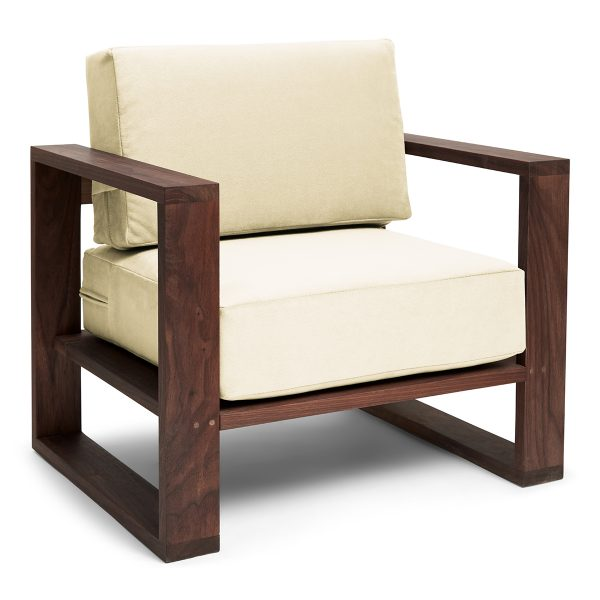 Franklin + Emily Chair Walnut Tapioca