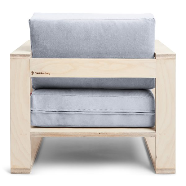Franklin + Emily Chair Ash Cadet Grey